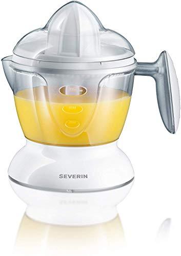SEVERIN CP3536 Citruspresse (25 W, mit 2 Presskegel, 750 ml Volumen) weiß