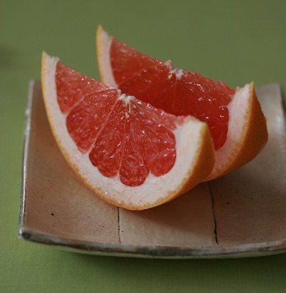 Grapefruitschnitze