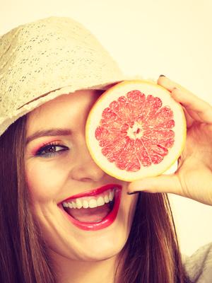 Grapefruit ist gesund