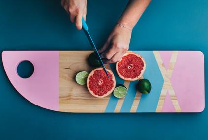 Grapefruit schneiden und filetieren