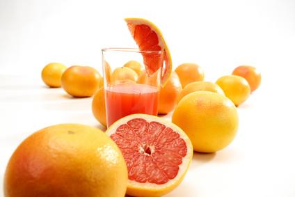 Frischer Grapefruitsaft