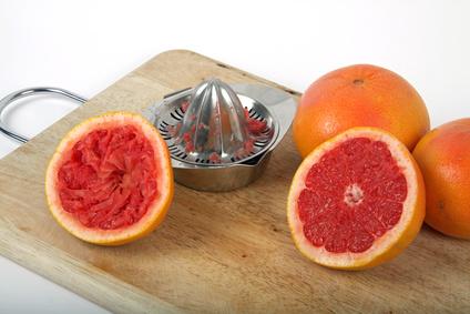 Grapefruitsaft frisch gepresst