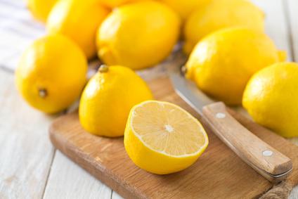 Halbierte Zitrone