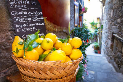 Zitrone Herkunft